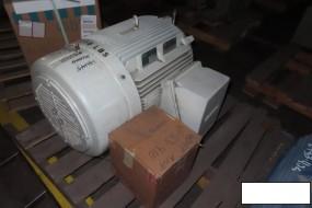 Siemens RGZESD Motor, 60 Hp, 1185 RPM, 404T Frame, (rebuilt 2011)