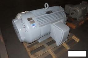 Teco Westinghouse AEHE-UW020 Motor, 150 Hp, 888 RPM, 449T Frame, S/n DX9124421001