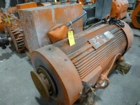 Reliance 500 HP Motor | Frame: 35EC 5012Z; Enclosure: TEFG-XT; ID No. VA00022; 1195 RPM; 460V; 551A; Code: G; Rebuilt: 2015