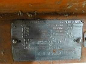 GE 600 HP Motor | Model No. 5KS513SM2724M; 600 HP; 4160V; 1790 RPM; Frame: KS; 3PH