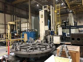 Giddings & Lewis Floor Type CNC Boring Mills (2) Each