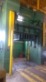 Clearing Mold / Die Hydraulic Spotting Press